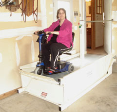 garage lifts and wheelchair lifts